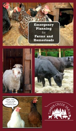emergency planning for farms