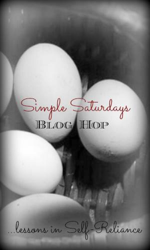 Simple Saturdays Blog Hop September 6