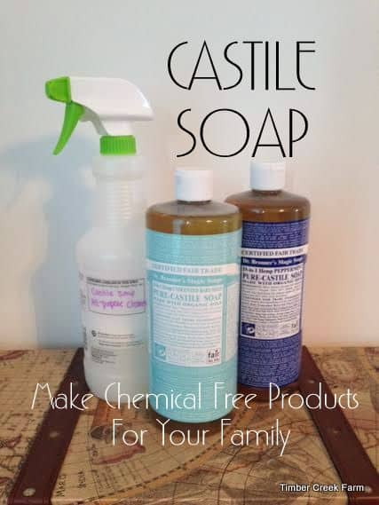 Castile Soap – Make Chemical Free Products for Your Family