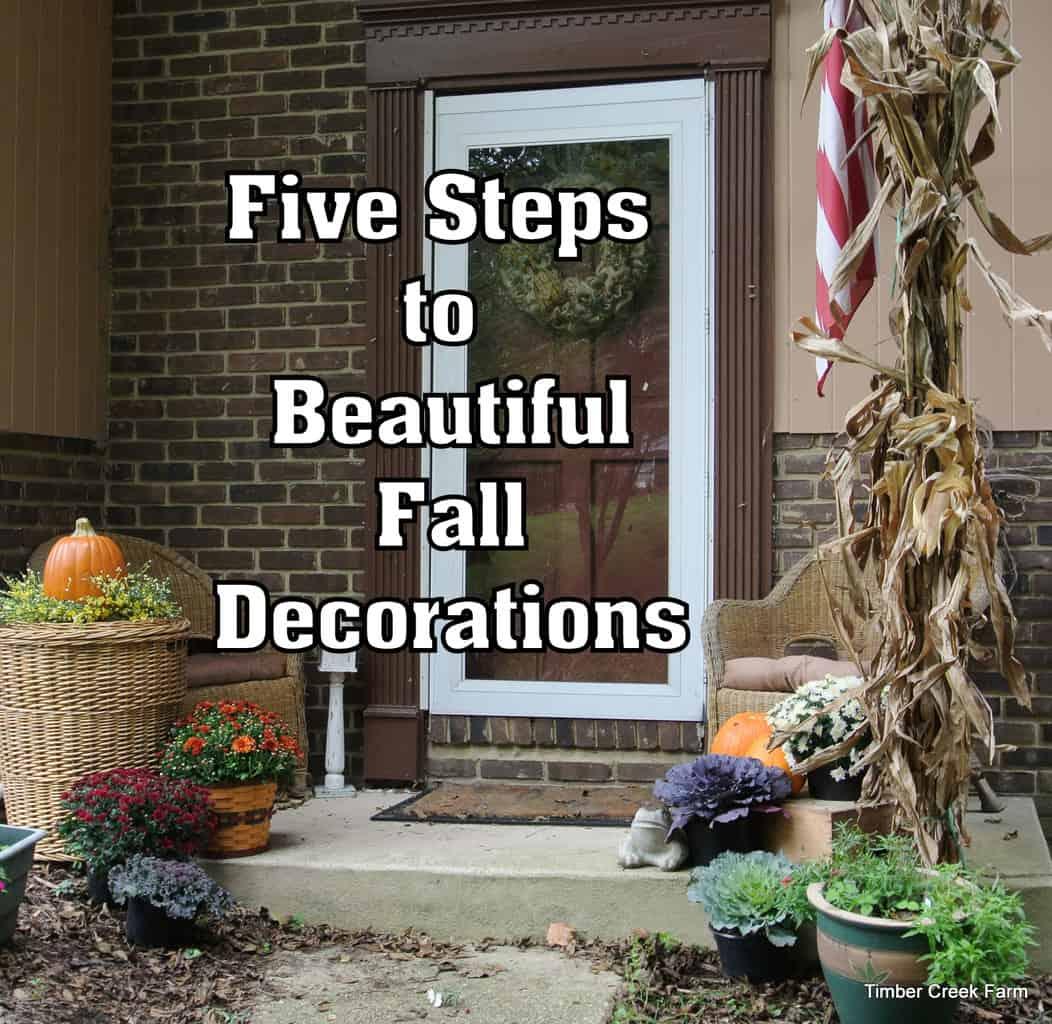 5 Fall Decorating Ideas