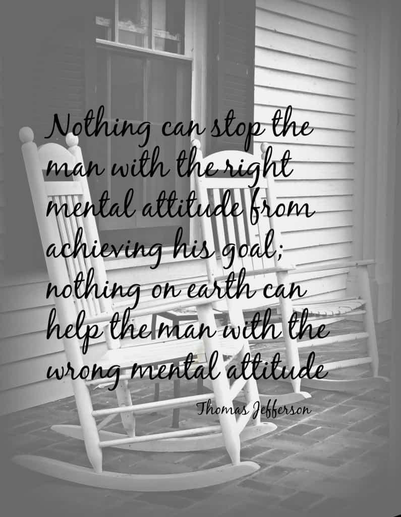 Right Mental Attitude  www.timbercreekfarmer.com