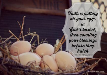 Faith in Homesteading