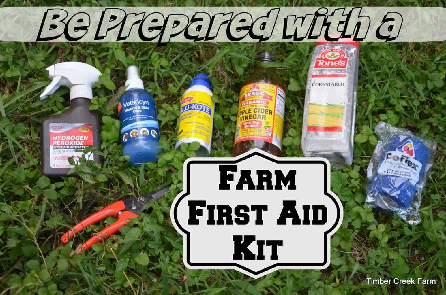 Farm First Aid Preparedness