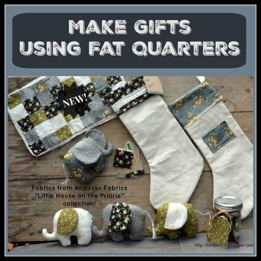 using fat quarters