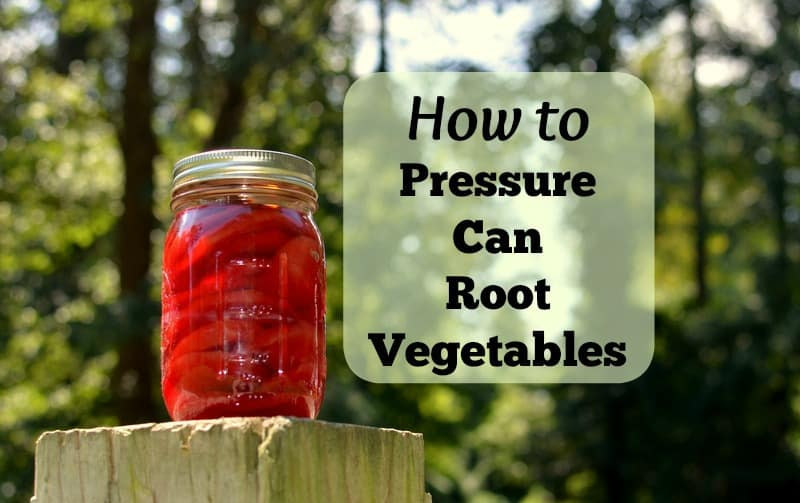How to Pressure Can Root Vegetables