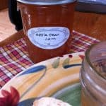 PEAR APPLE JAM for a Delicious Combo Spread