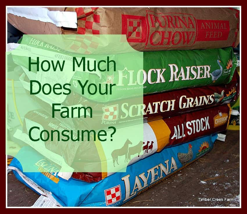 Know What Your Farm Consumes