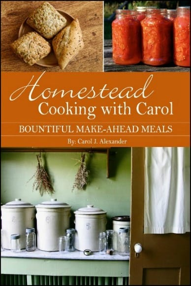 Homestead Cooking With Carol –  A book review