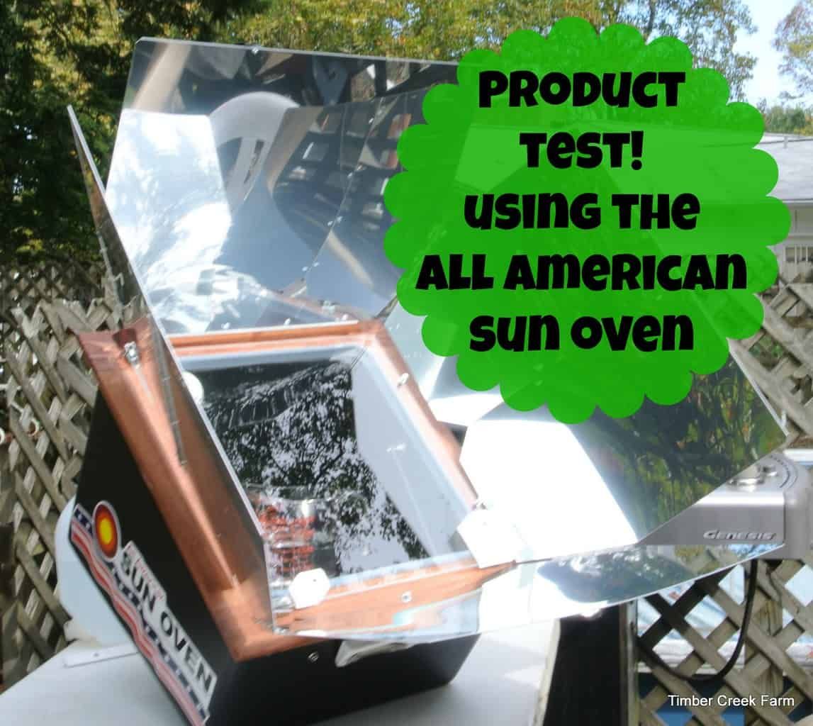 Sun Oven Review https://timbercreekfarmer.com