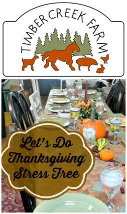 thanksgiving stress free
