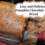 Easy Pumpkin Chocolate Chip Bread