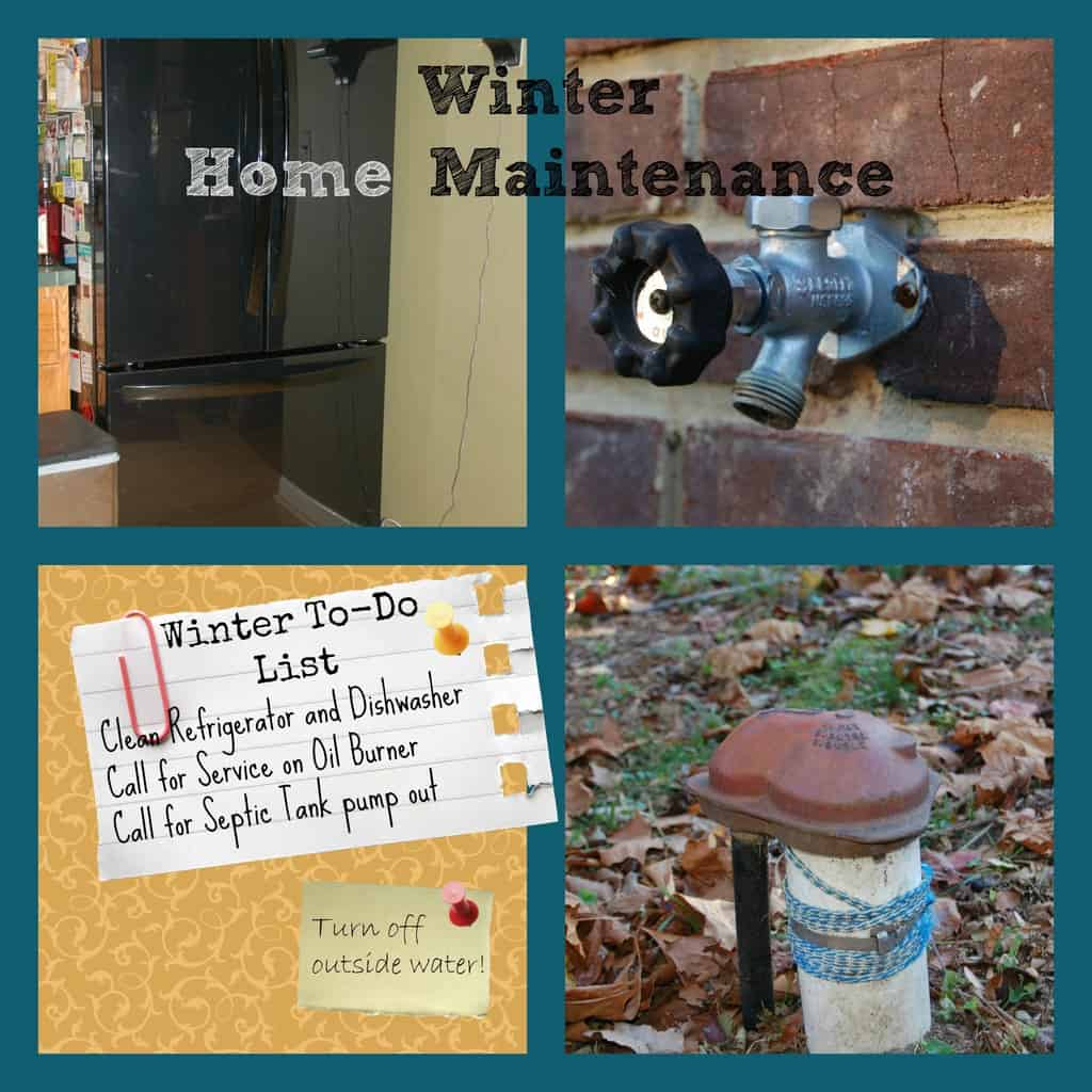 Home Winter Maintenance