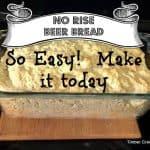 Easy No Rise Beer Bread
