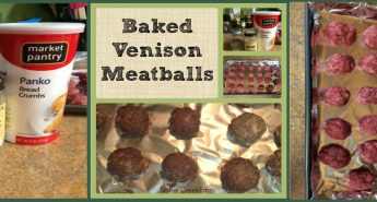 venison meatballs