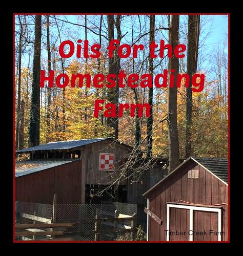 Essential Oils around the barnyard