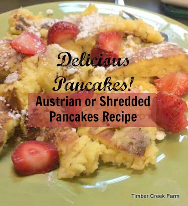 Austrian Pancakes Recipe