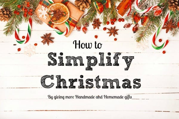 Simplify Christmas This Year