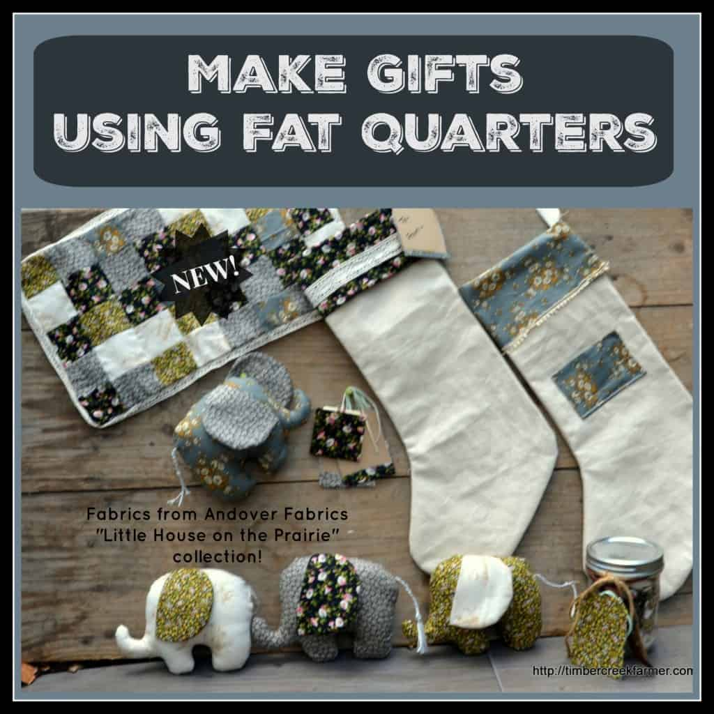 using fat quarters