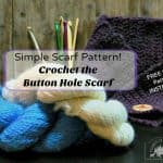 Crochet a Simple Scarf Pattern Today