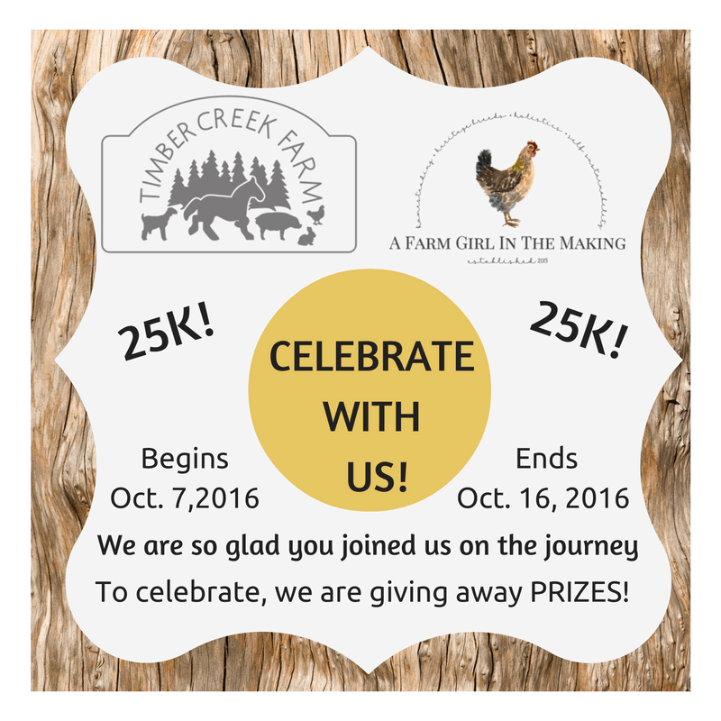 Growing a Homesteading Blog Celebration