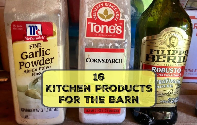 kitchen products for the barn