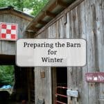 Five Tips to Prepare the Barn for Winter