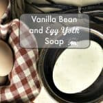 Homemade Vanilla Bean Soap Using Cold Process