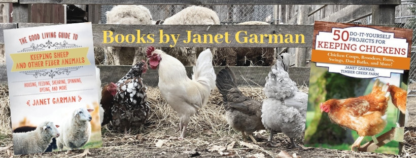 Books by Janet Garman of Timber Creek Farm