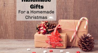 handmade gifts for a homemade Christmas