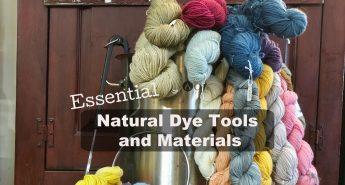 natural dye tools