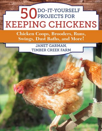 keeping chickens book cover