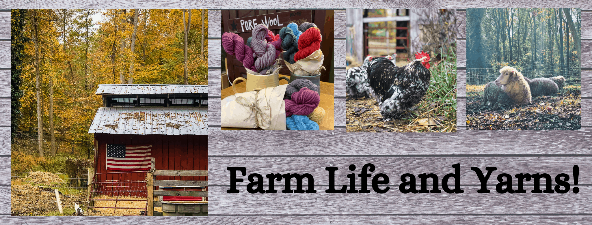 farm life and yarns header